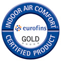 Knauf Indoor Air Comfort Gold Zertifikat