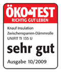 Knauf Öko Test 10/2009