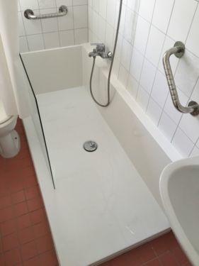 wanne zu dusche an einem tag sanit rbetrieb. Black Bedroom Furniture Sets. Home Design Ideas
