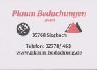 Plaum Bedachungen GmbH Logo