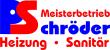 Schröder Heizung Sanitär OHG Logo