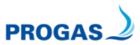 PROGAS GmbH & Co. KG // Mitte Logo