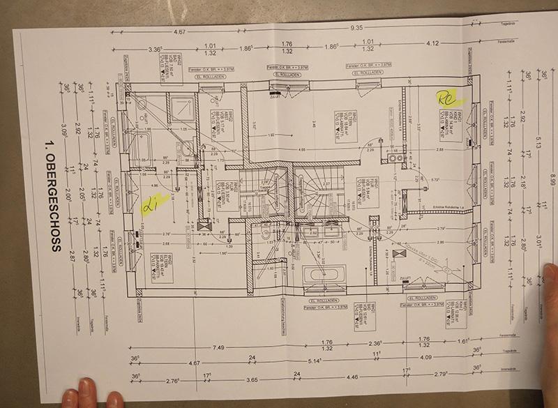Mit einem konkreten Aufmass des eigenen Badezimmers ist die Planung einfacher.