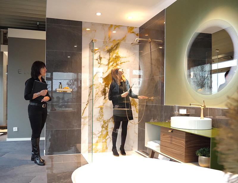 Badausstellungen machen die eigenen Vorstellungen vom neuen Badezimmer greifbar und erlebbar.
