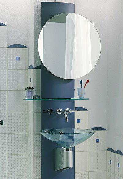 Waschtisch mit integriertem Hochschrank
