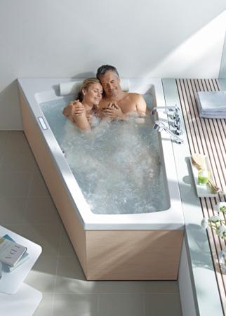 Badewanne 2 personen maße  Badewanne für 2 Personen: entspanntes Baden für Paare und Familien