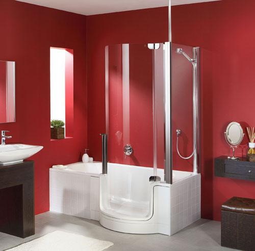 badewanne mit einstieg die begehbare badewanne f r gr eren komfort. Black Bedroom Furniture Sets. Home Design Ideas