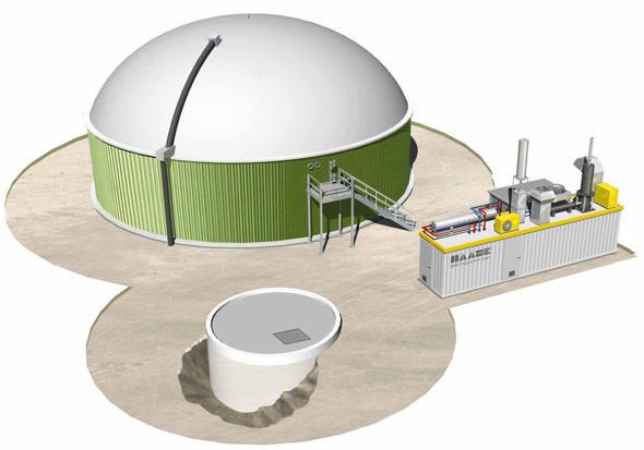 Vorgrube Biogasanlage