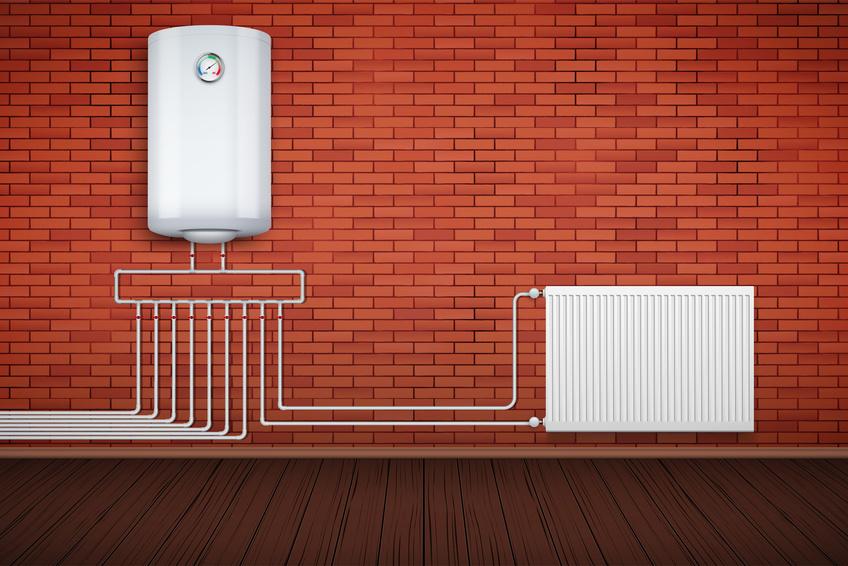 Caldera de gas for Calderas de lena para radiadores de agua