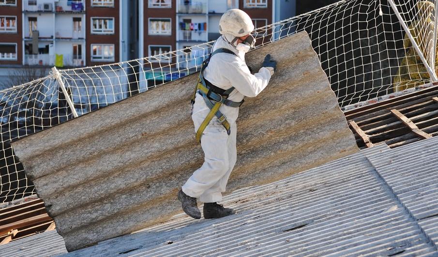 Etwas Neues genug Asbest im Dach & bei der Dachsanierung erkennen #MB_95