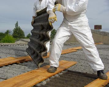 Dach Asbest