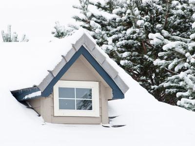 Eine Dachgaube braucht eine gute Dämmung