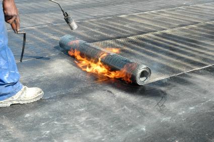 Flachdach Dacheindeckung Folie