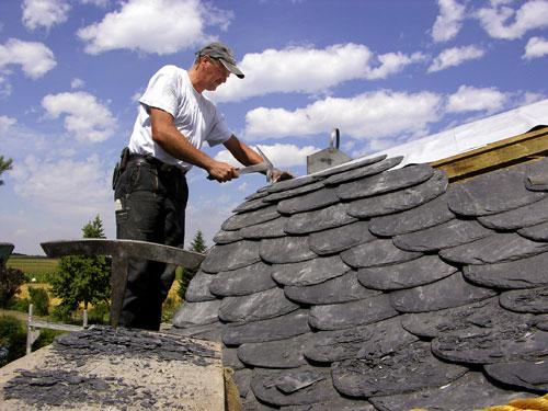 Schieferdach Dacheindeckung