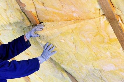 Zwischensparrendämmung im Dach