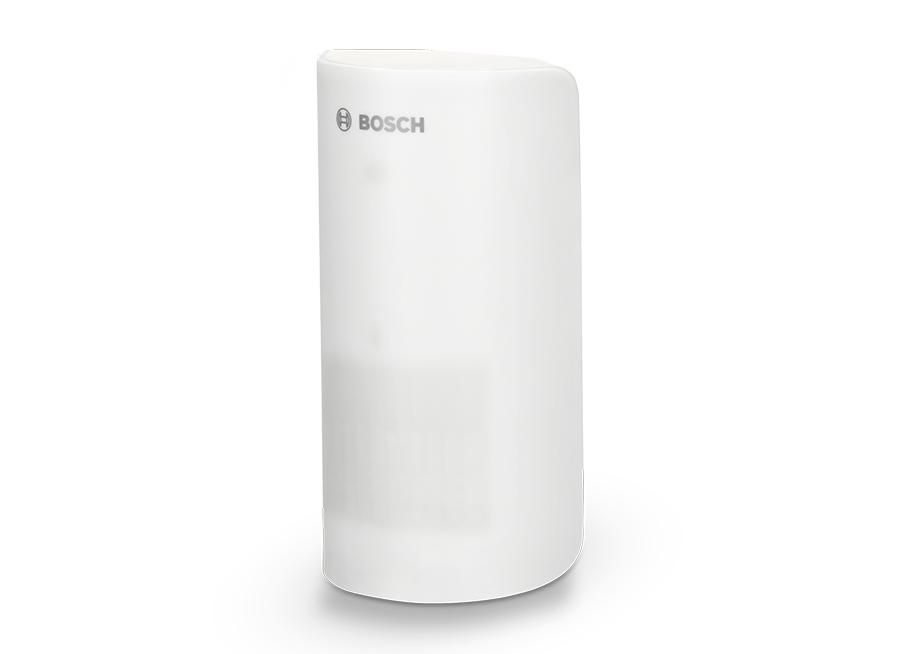 Mit dem separaten Bewegungsmelder von Bosch lassen sich Innenräume gezielt mit smarter Sicherheitstechnik nachrüsten.