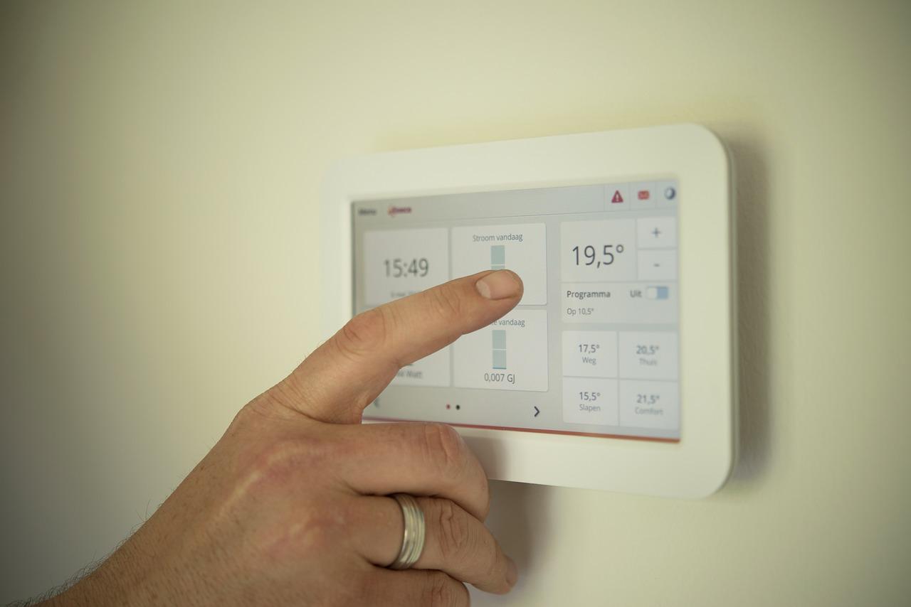 Domótica para control de temperatura y humedad