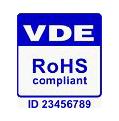 RoHS Kennzeichnung vom VDE
