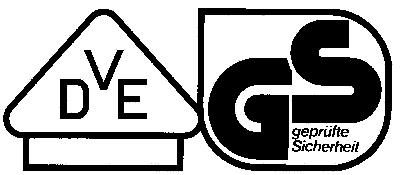 VDE GS Prüfzeichen