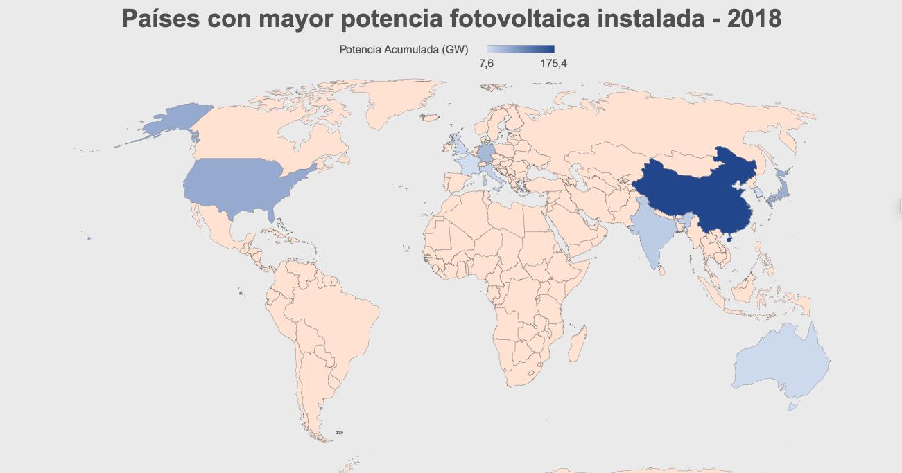 Países-con-mayor-potencia-fotovoltaica-instalada-2018