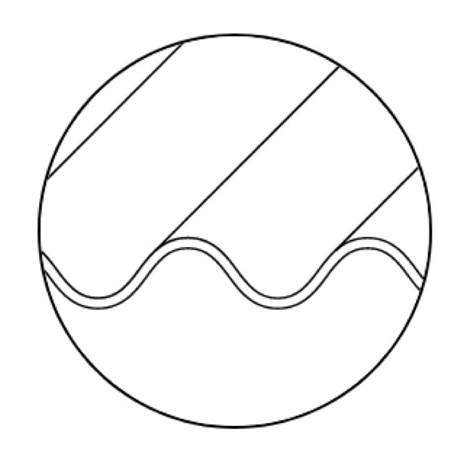 Superficie-inclinada-sobre-cemento-corrugado