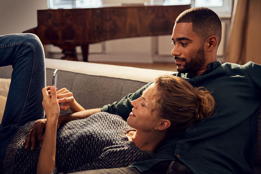 Mit dem Bosch Smart Home System können sie ganz bequem Energie sparen.