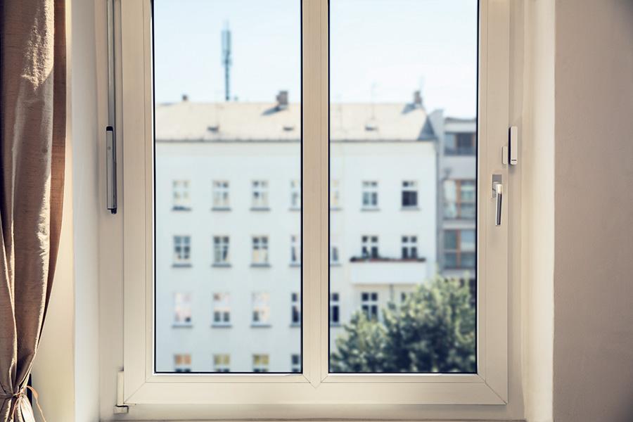 Nachrüstbare Fensterkontakte von Bosch