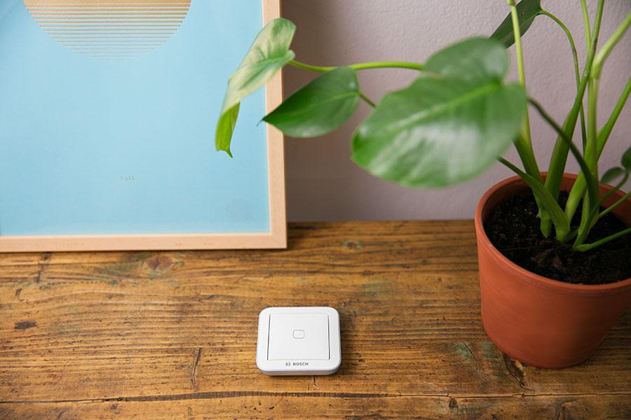 Formschön: der Bosch Smart Home Universalschalter