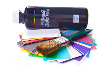 Abtönfarben & Volltonfarben