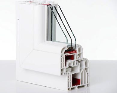 Energiesparfenster mit Dreifachverglasung