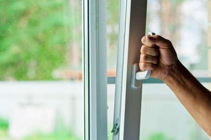 Hand bedient Fenstergriff