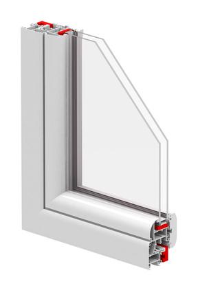 Fenster mit Doppelverglasung
