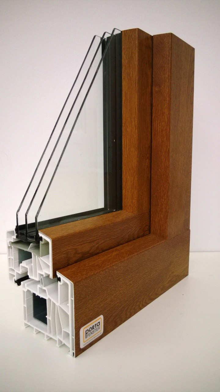 Fensterverglasung mit dreifacher Scheibe