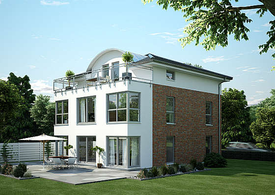 fertighaus stadtvilla: urbanes wohnen mit anspruch - Stadtvilla Fertighaus