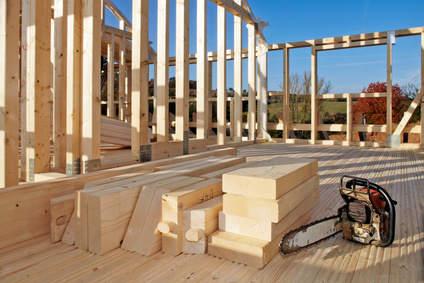 Holzständerbauweise