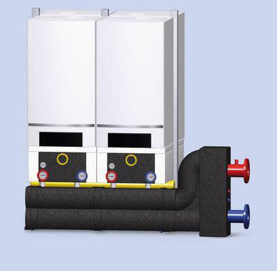 Gasheizung im Mehrfamilienhaus - Kaskade