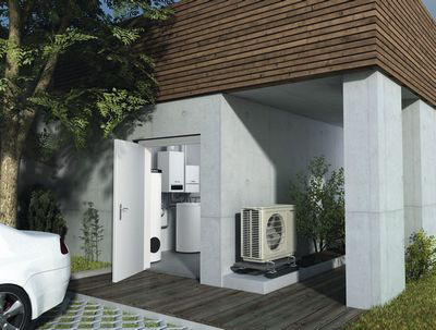 Hybridwärmepumpe