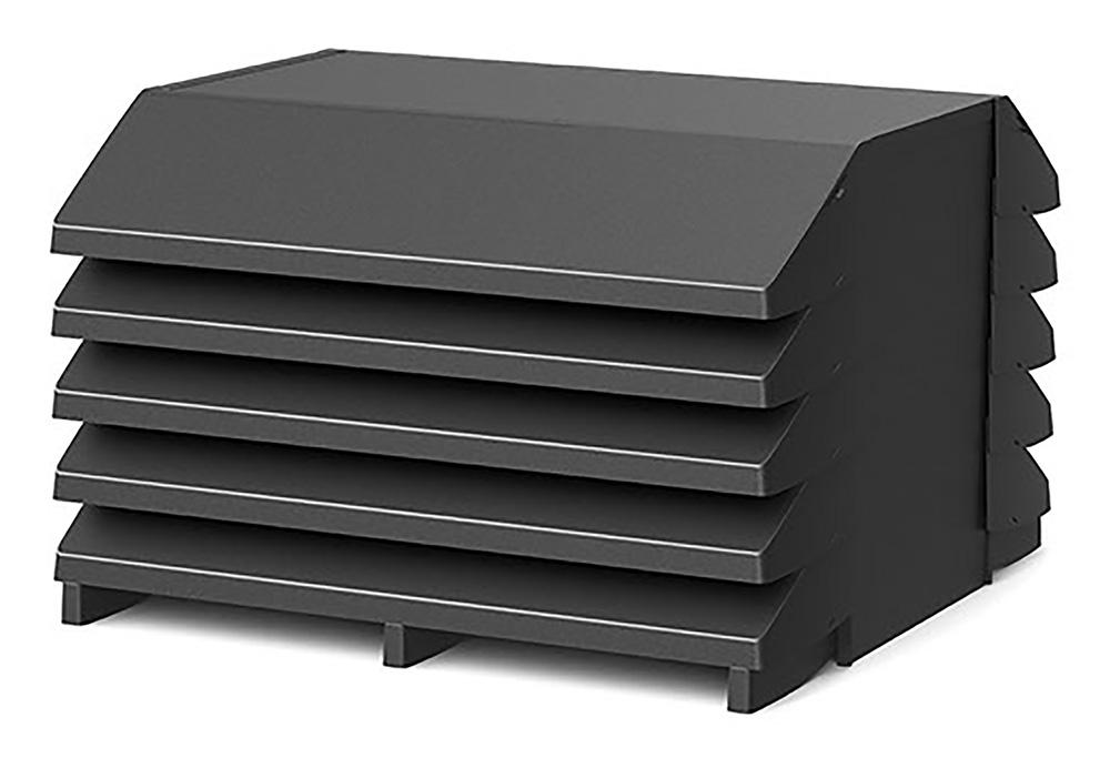 Kleine Schallschutzhaube für Wärmepumpen von Austria Email