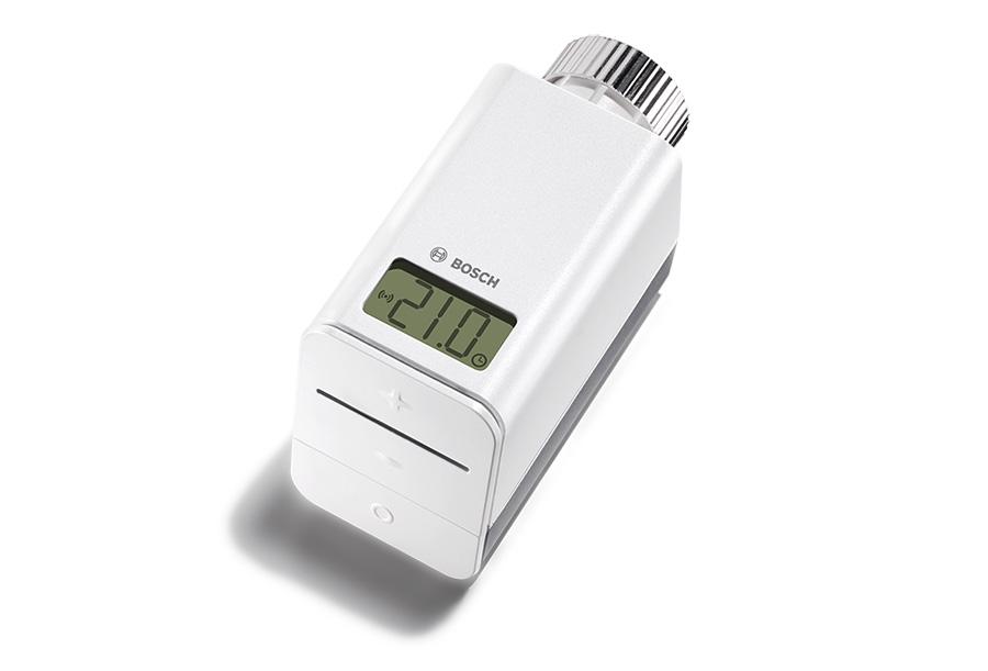 Das smarte Heizkörperthermostat lässt sich einfach an jedem Heizkörper nachrüsten.