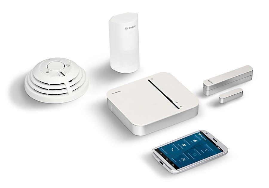 Erweitert die Heizungssteuerung um zusätzliche Sicherheitskomponenten: die Bosch Smart Home Rauch- und Bewegungsmelder.