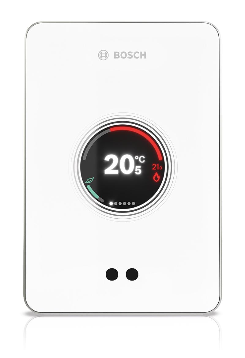 Mit dem smarten Heizungsregler EasyControl verbindet Bosch intelligente Technik, effiziente Wärmeregulierung und hohen Bedienkomfort in nur einem Gerät. (Quelle: Bosch)