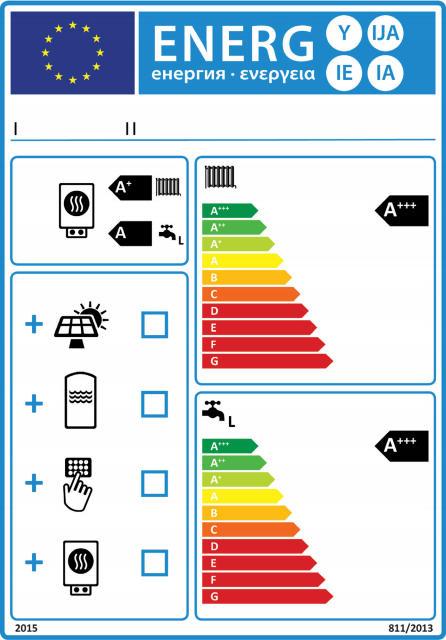 Energielabel für Kombiheizgeräte und Verbundanlagen