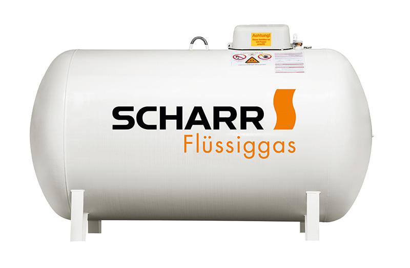 Flüssiggastank von Scharr