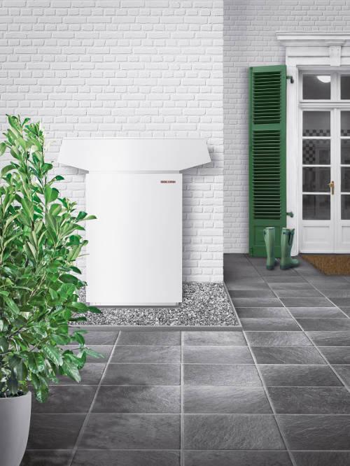 Heizungsaustausch - Luft-Wasser-Wärmepumpe