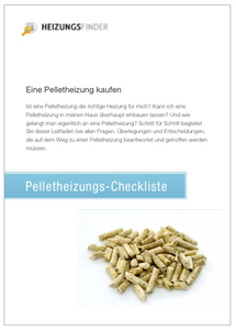 Pelletheizung Checkliste