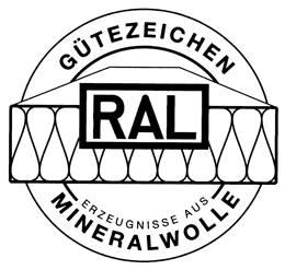 RAL Mineralwolle Gütezeichen