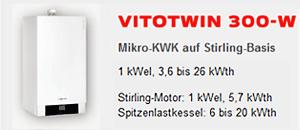 Viessmann Mikro KWK Vitotwin 300-W