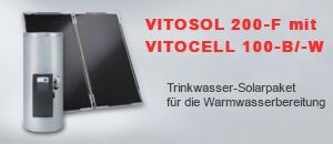 Viessmann Solarthermie Paket Vitosol 200-F