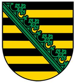 Landeswappen Sachsen