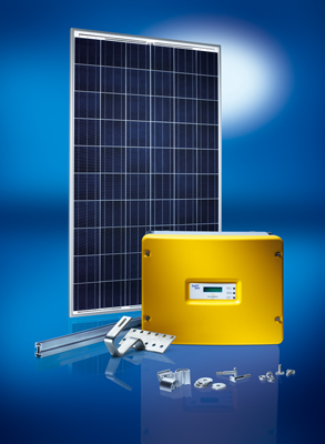 Photovoltaik Bausatz Solarworld